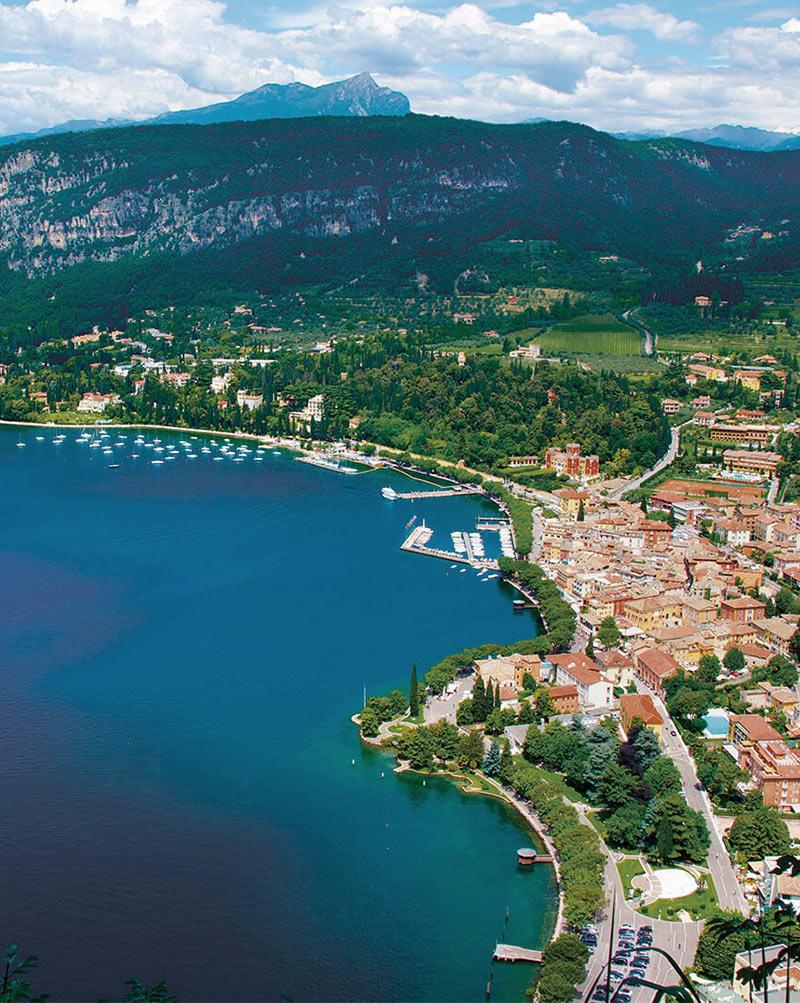 Lago Di Garda Sponda Di Verona